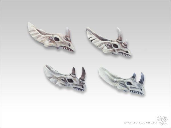 Lizard Skull Set