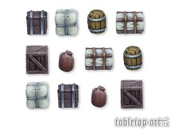 Boxes and Barrels - Set 1 (12)
