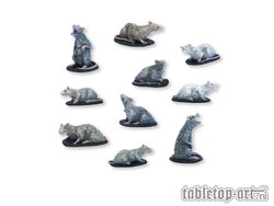 Ratten Miniaturen Set