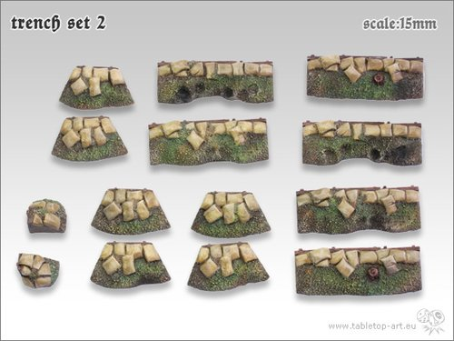Trench Set 2 | 15mm