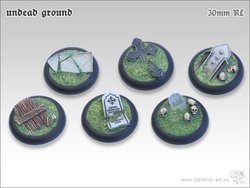 Undead Ground Bases - 30mm RL (5)