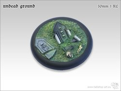 Undead Ground Bases - 50mm RL 1