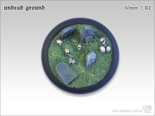 Undead Ground Bases - 50mm RL 2