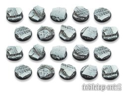 Ancestral Ruins Bases - 25mm DEAL (20)